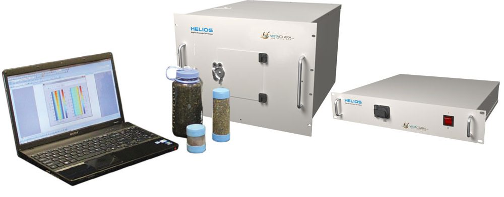 Helios Field-portable Core & Soil Analyzer Uses Advanced NMR for Sample Analysis