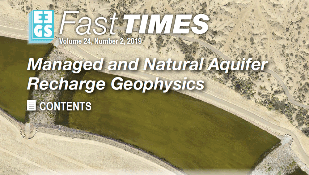 FastTIMES article: Surface and Borehole NMR as a Characterization Tool for Managed Aquifer Recharge
