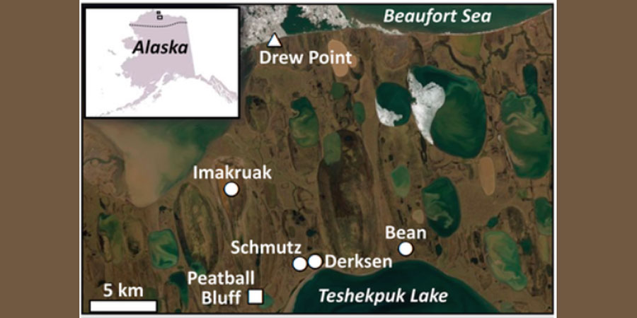 Research Article: Geophysical Observations of Taliks Below Drained Lake Basins on the Arctic Coastal Plain of Alaska